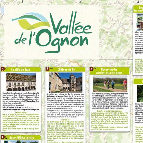 Carte Vallée de l'Ognon