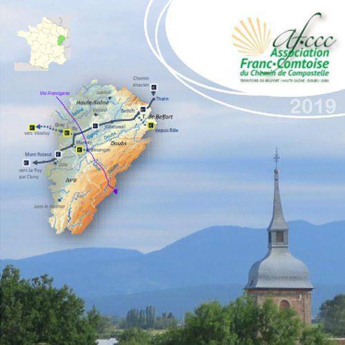 Chemin de Compostelle en Franche-Comté