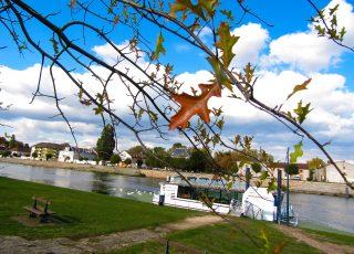 <p>Une idée de sortie sur la Saône, promenade sur l'Audacieux</p>