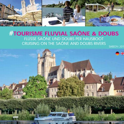 River tourism Saône and Doubs
