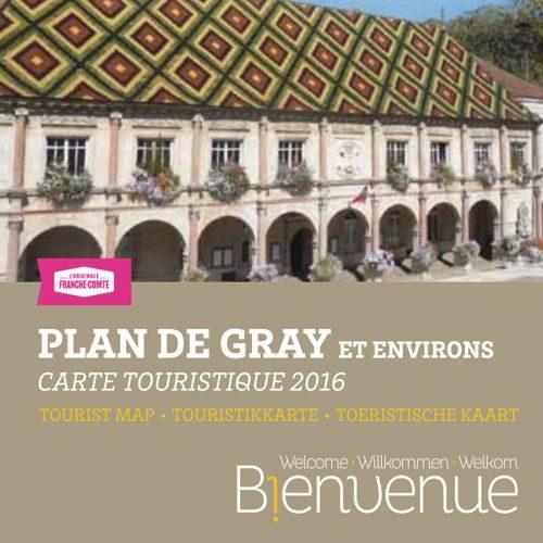 Plan de Gray et ses environs