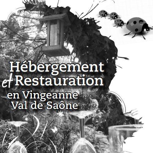 Verblijf en restaurants Vingeanne Val de Saône