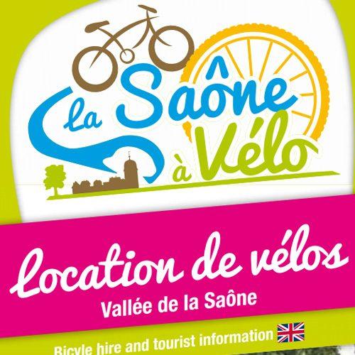 Per fiets langs de Saône
