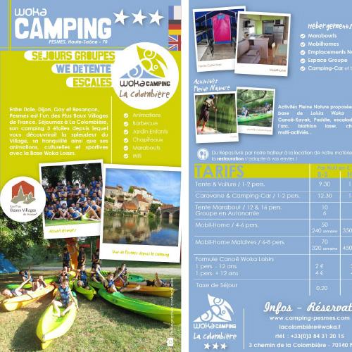 Camping La Colombière - Pesmes